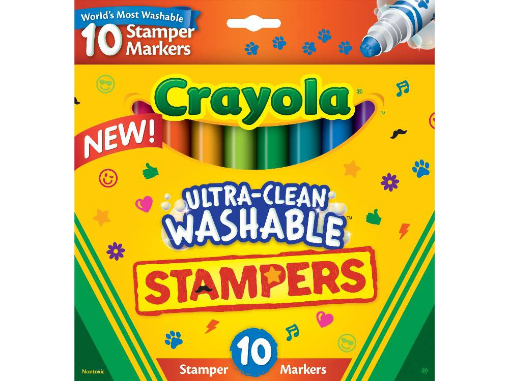 Crayola Ultra Clean Washable Stampers